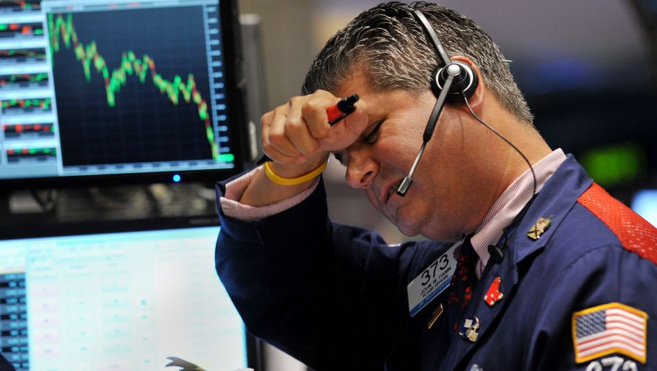 A trader at the New York Stock Exchange last week.