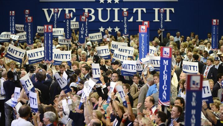 Parteitag der Republikaner: Alle für Romney
