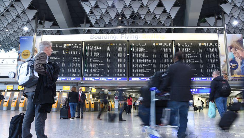 Flughafen in Frankfurt: Kaum noch Wachstum