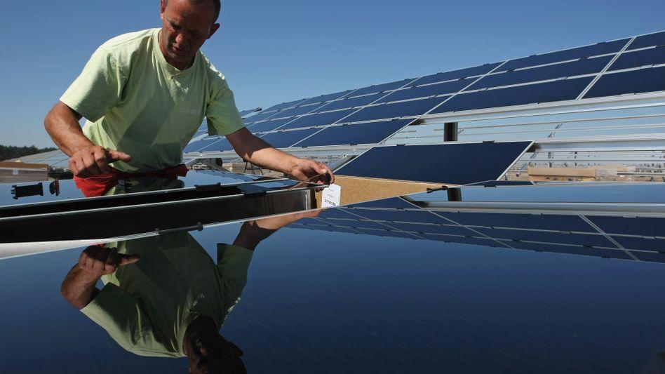Solarpark in Lieberose: Sorge über explodierende Förderkosten