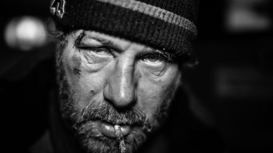 """Obdachloser aus Udine: """"Ja, komm, mach ma Jungchen"""""""