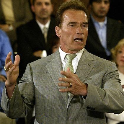 Einwanderer Arnold Schwarzenegger: Heimatfernsehen abschalten