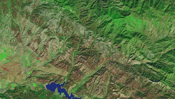 Lake Cachuma 2013 und 2016