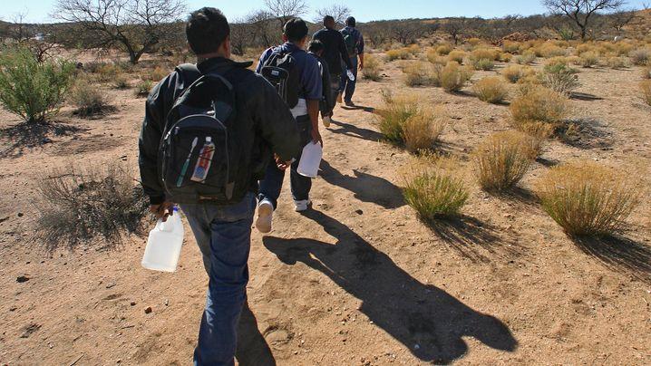 US-Grenze: Große Träume, scharfe Kontrollen