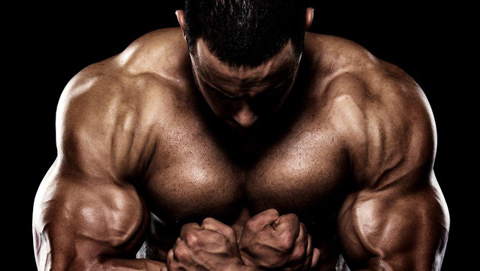Muskelmann (Symbolbild): »Keine klare positive Beziehung zwischen dem Testosteronlevel und der Sportlichkeit eines Menschen«