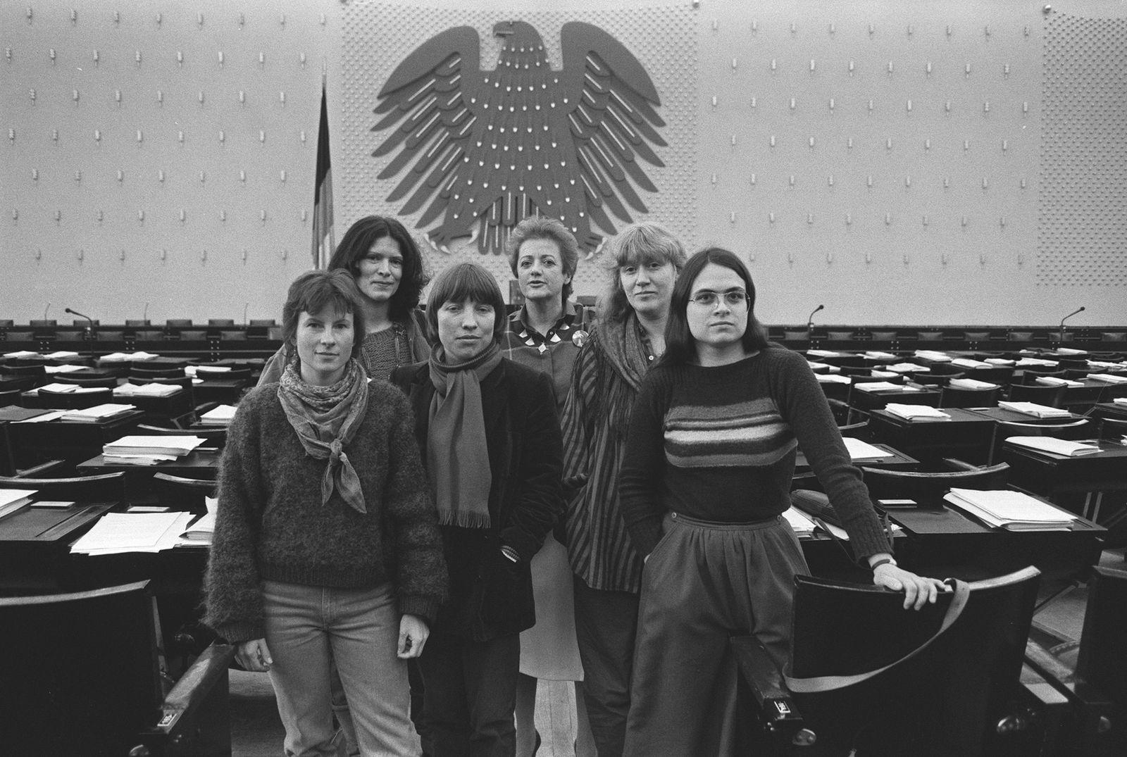 Die Gruenen im Bundestag