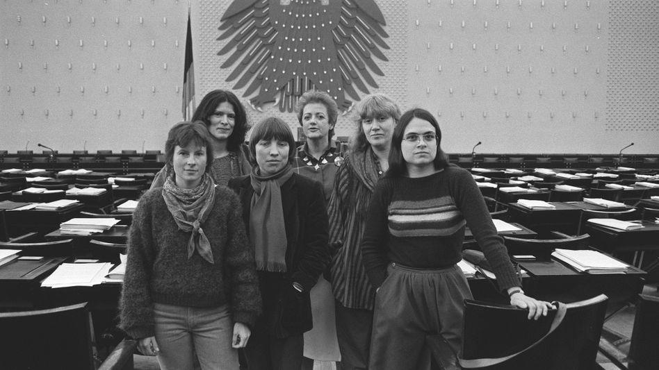 Das »Feminat« der Grünen (1984): Nur Frauen an der Spitze
