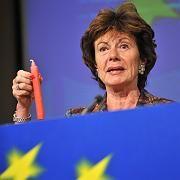 """EU-Kommissarin Kroes: """"Vierthöchstes Bußgeld der EU"""""""
