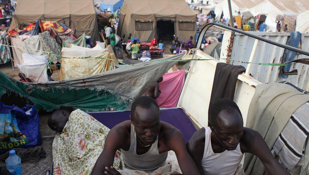 Bürgerkrieg: Auf der Flucht im Südsudan