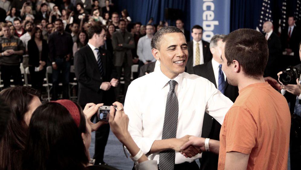 Obama und Facebook: Scherze, Sprüche und Kritik