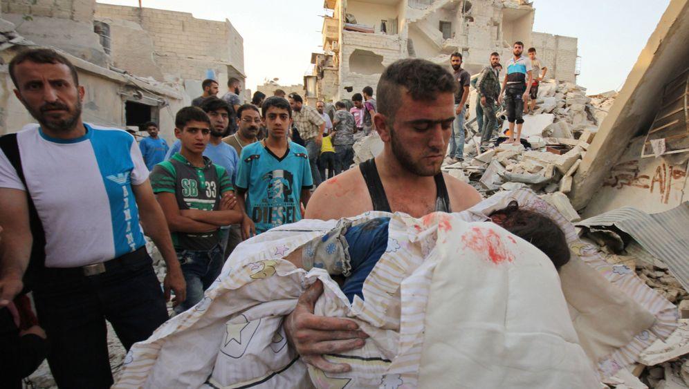 Fotostrecke: Umkämpftes Aleppo