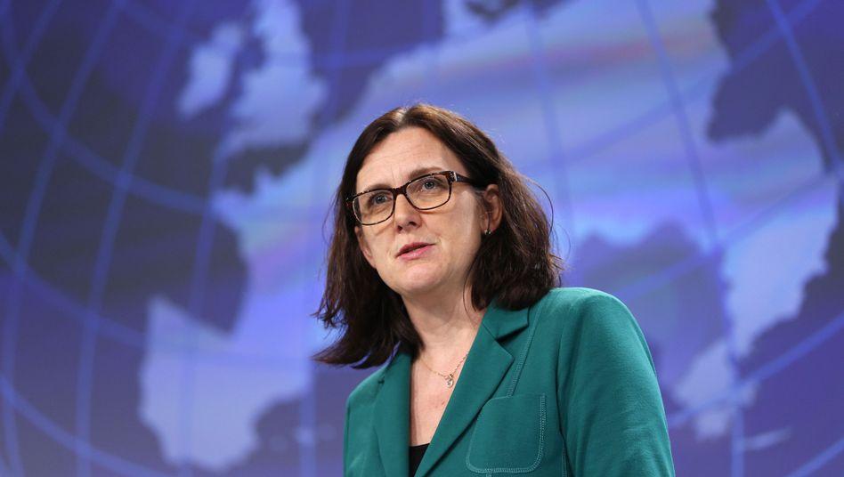 Im Kreuzfeuer: Designierte EU-Handelskommissarin Malmström
