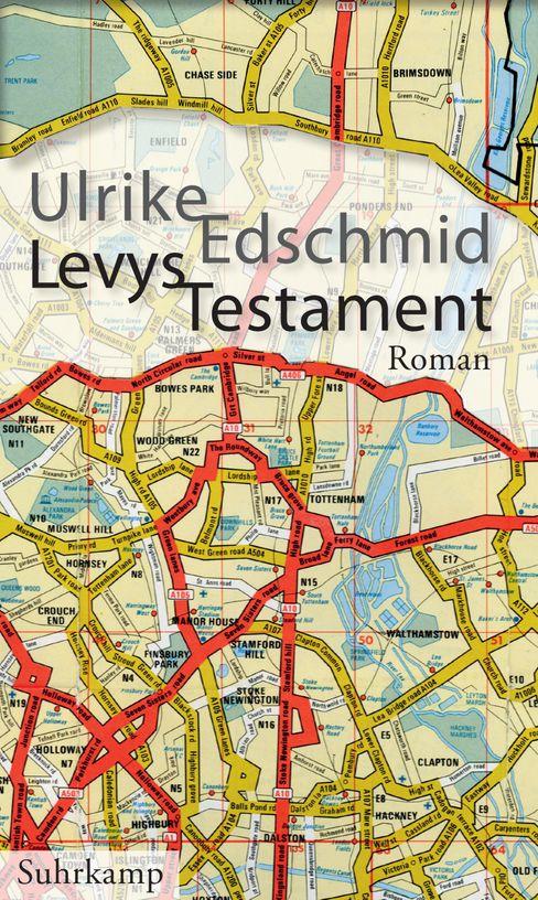 Buchcover »Levys Testament« von Ulrike Edschmid