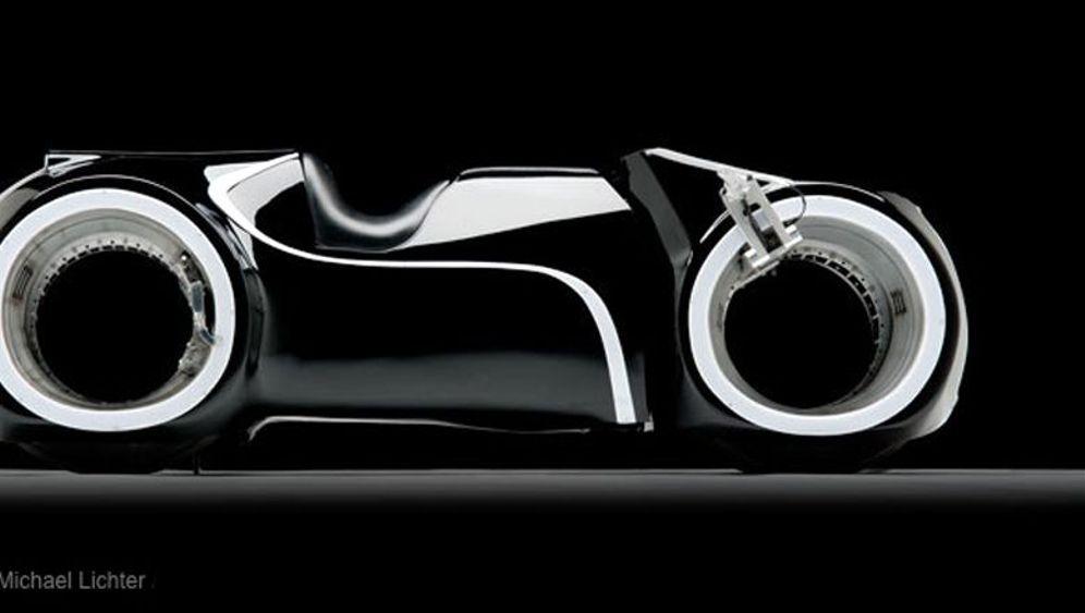 Extrem-Motorrad Tron Lightcycle: Radikale Konstruktion