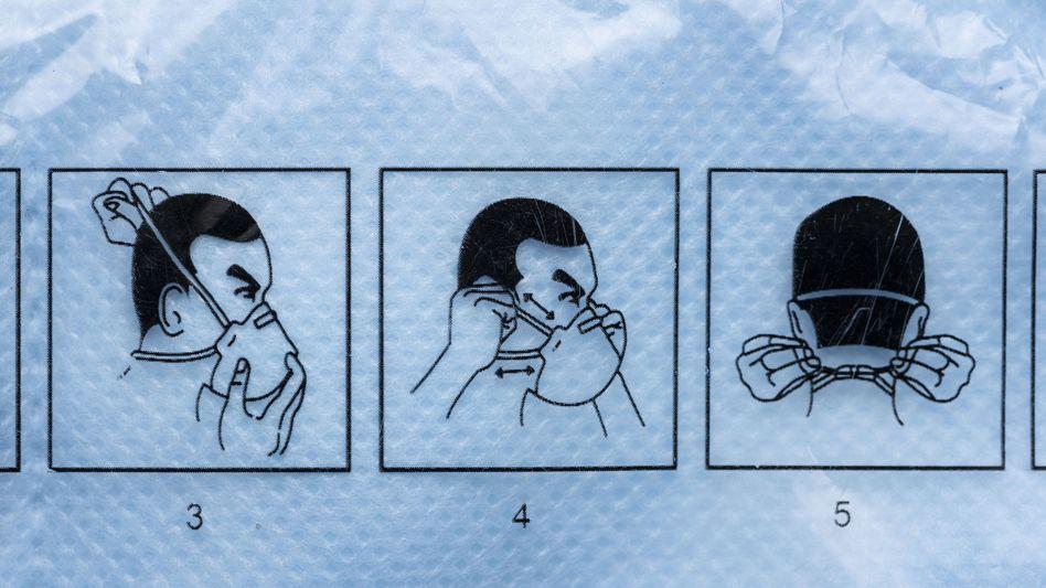 Gefragtes Gut: Anleitung zum Aufsetzen von FFP-2-Masken