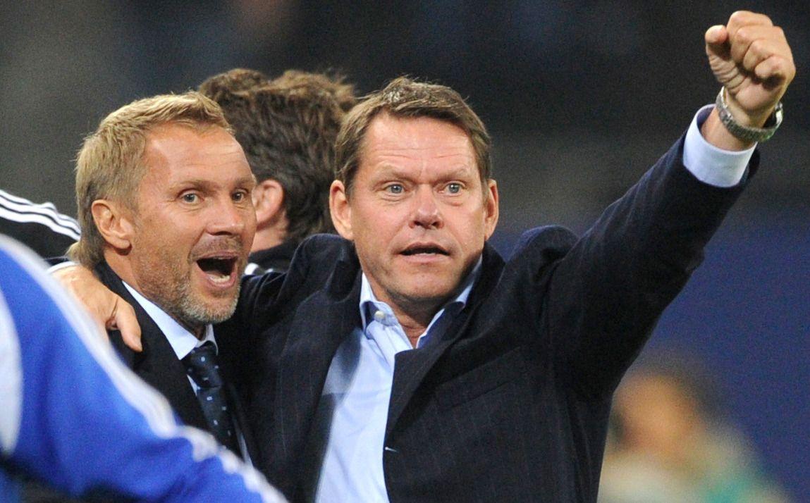 Thorsten Fink und Frank Arnesen