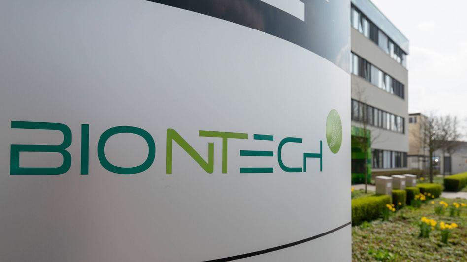 Biontech-Firmenzentrale in Mainz