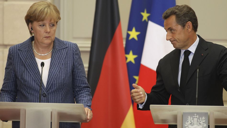 Verbündete Merkel, Sarkozy: Preis für die Enthaltung