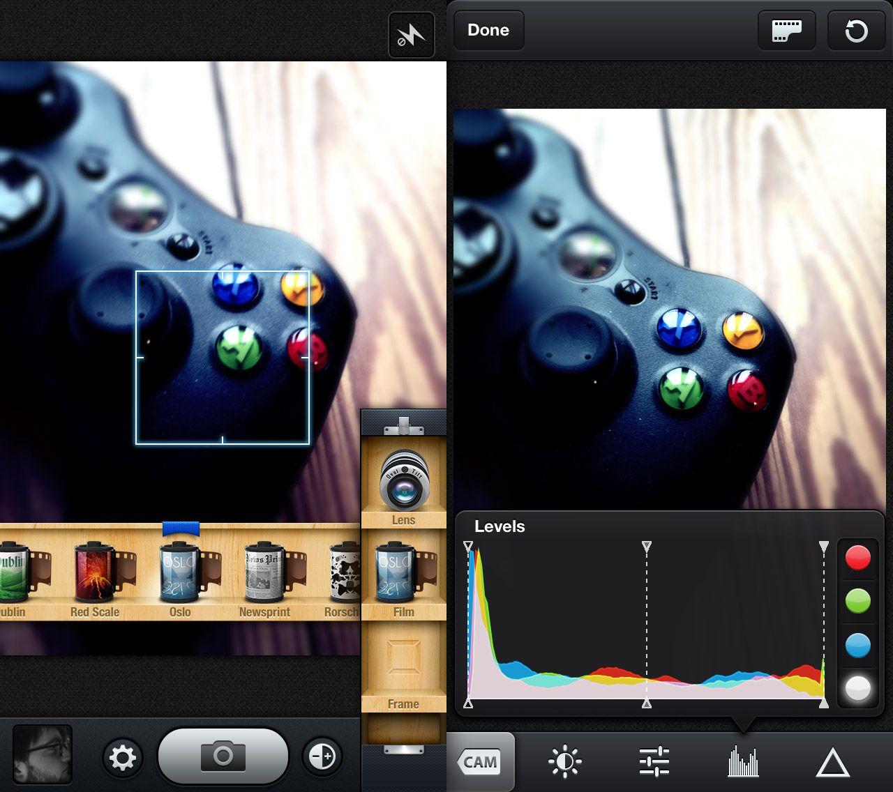 iOS Apps / cam
