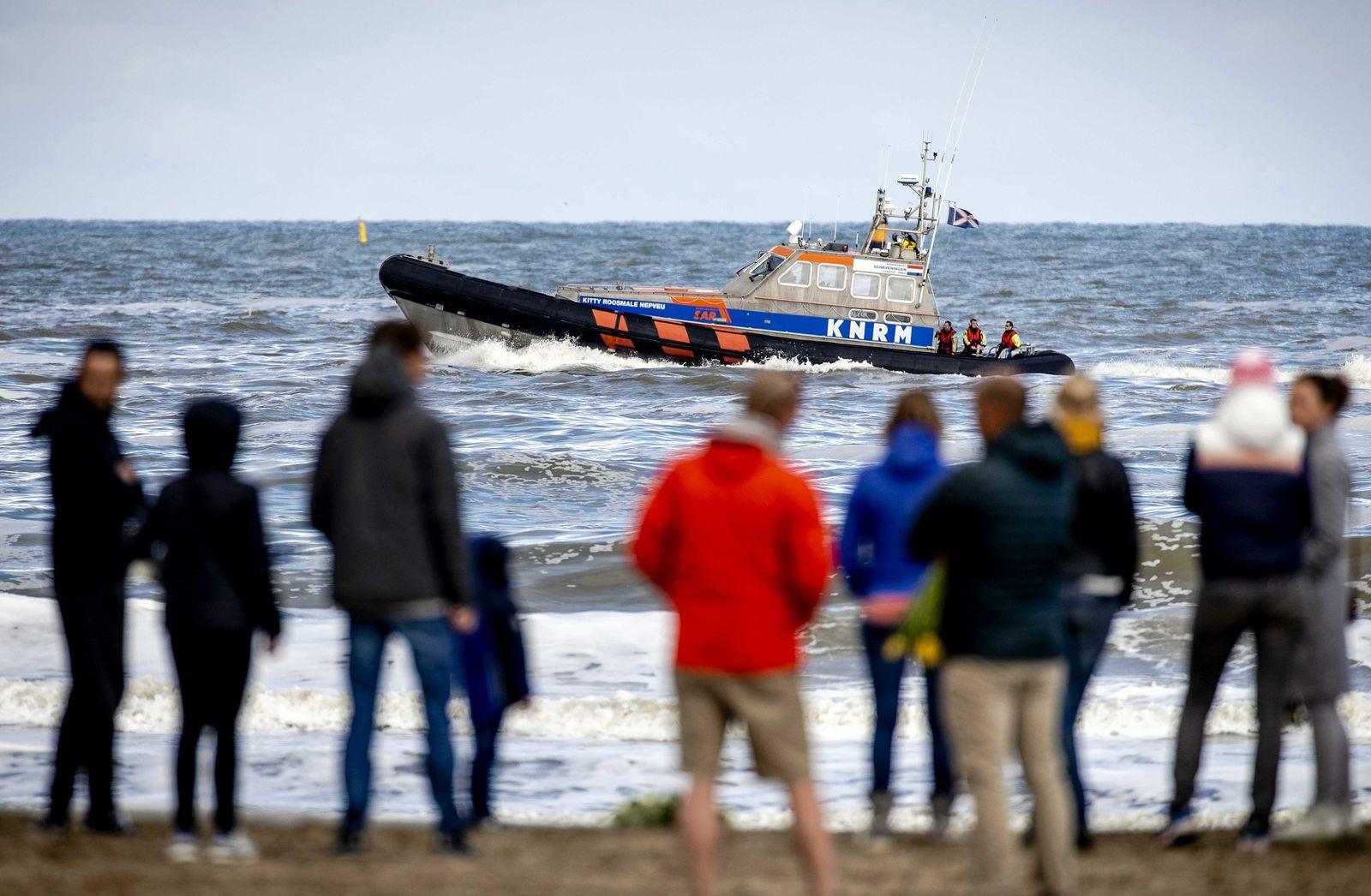 Holländische Surfer sterben in der Nordsee