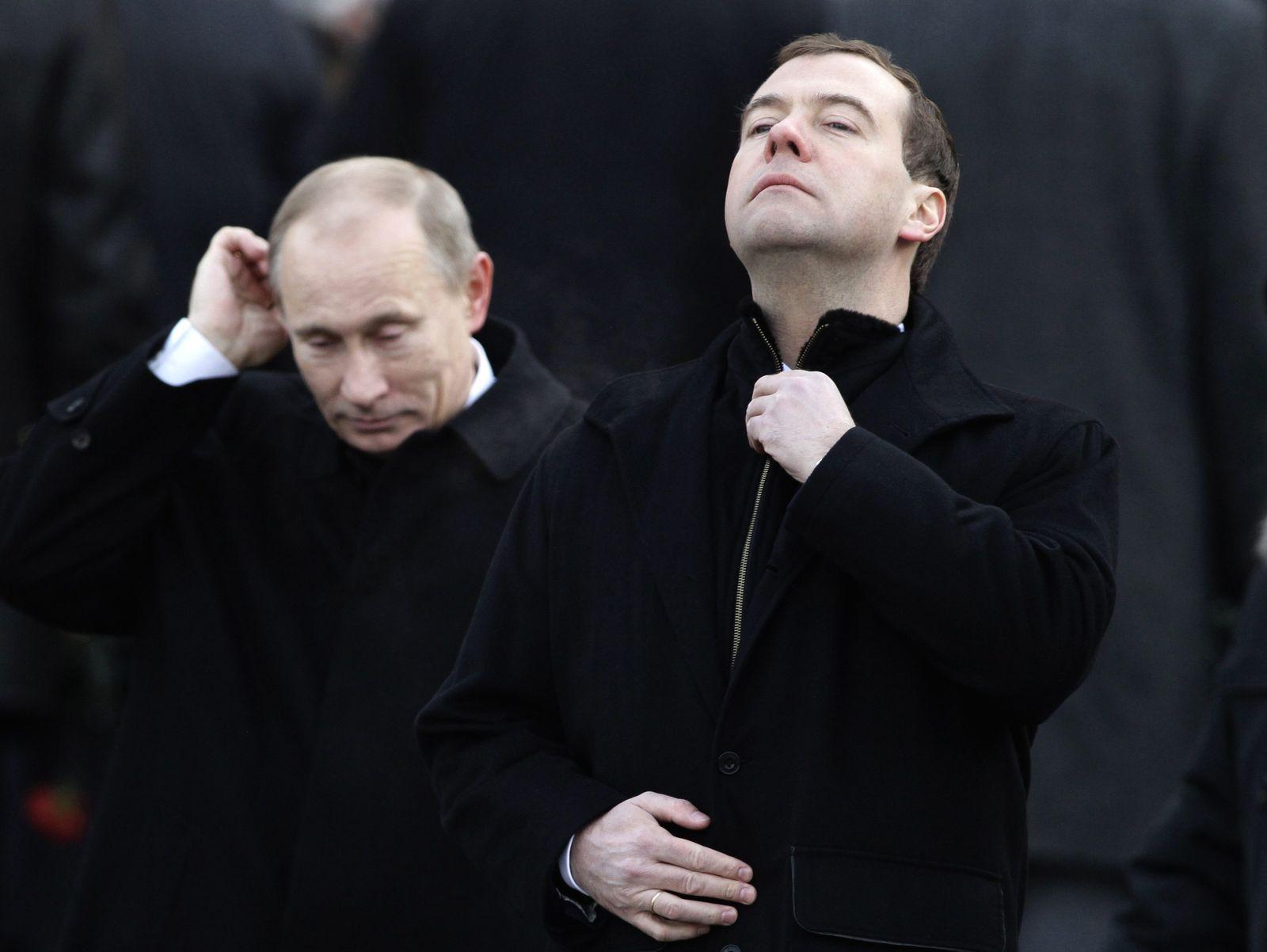 Putin Medwedew