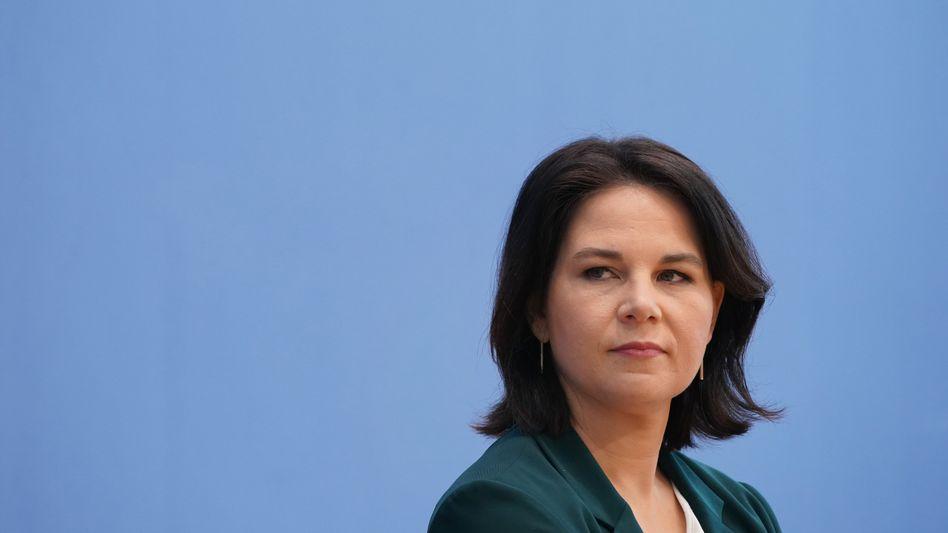 Grünenchefin Annalena Baerbock rechtfertigt das Ausschlussverfahren gegen Boris Palmer