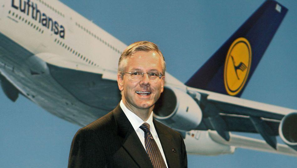 Designierter Lufthansa-Chef Franz: Gradlinig, nüchtern, unprätentiös