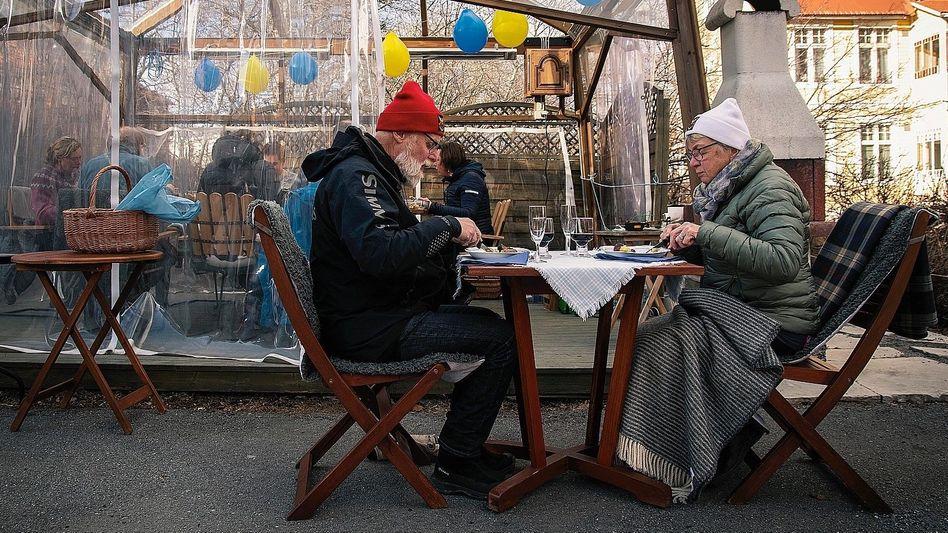 Senioren im schwedischen Östersund