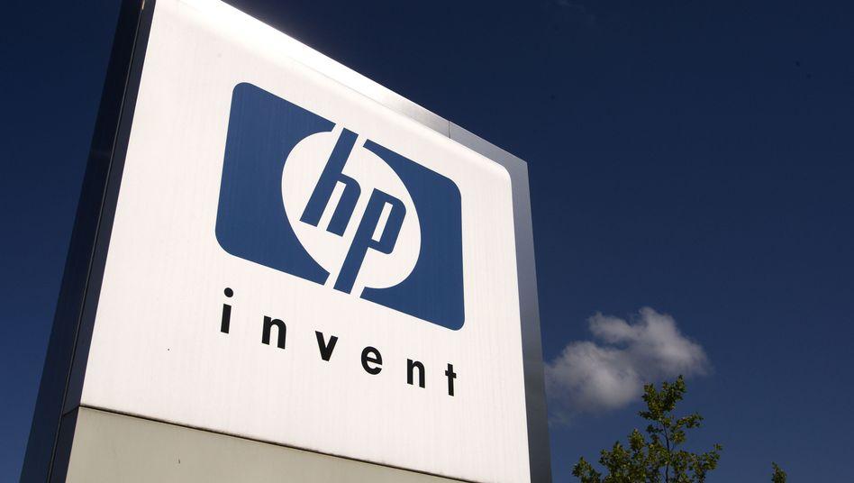 HP-Logo: Prozessoren Herzstück vieler großer HP-Firmenrechner