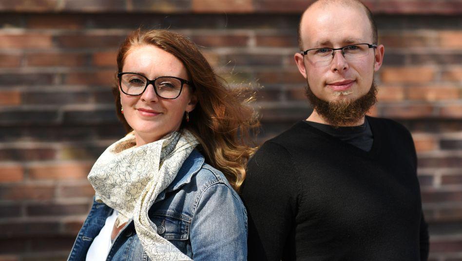 Nils Schnell und Anna Stania