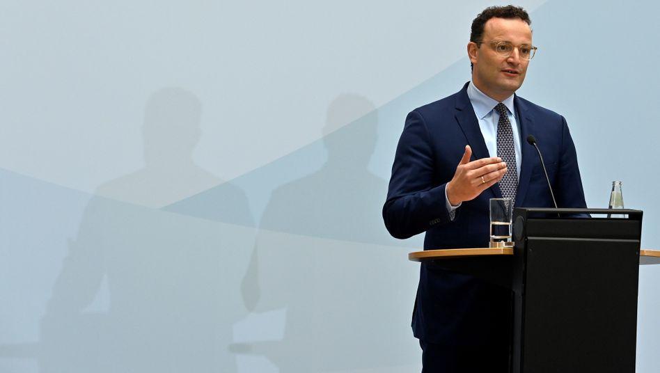 """Bundesgesundheitsminister Jens Spahn (CDU): """"Lage im März nicht mit Wissen von September bewerten"""""""