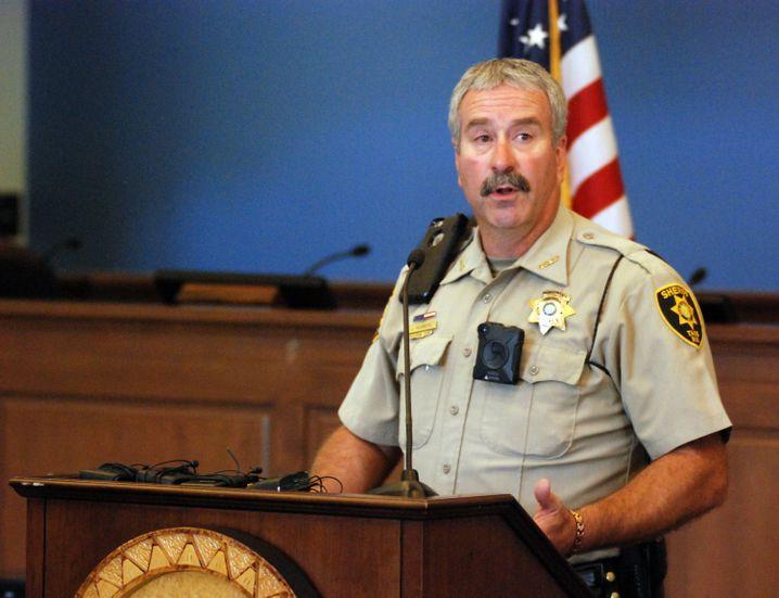 Sheriff Jerry Hogrefe