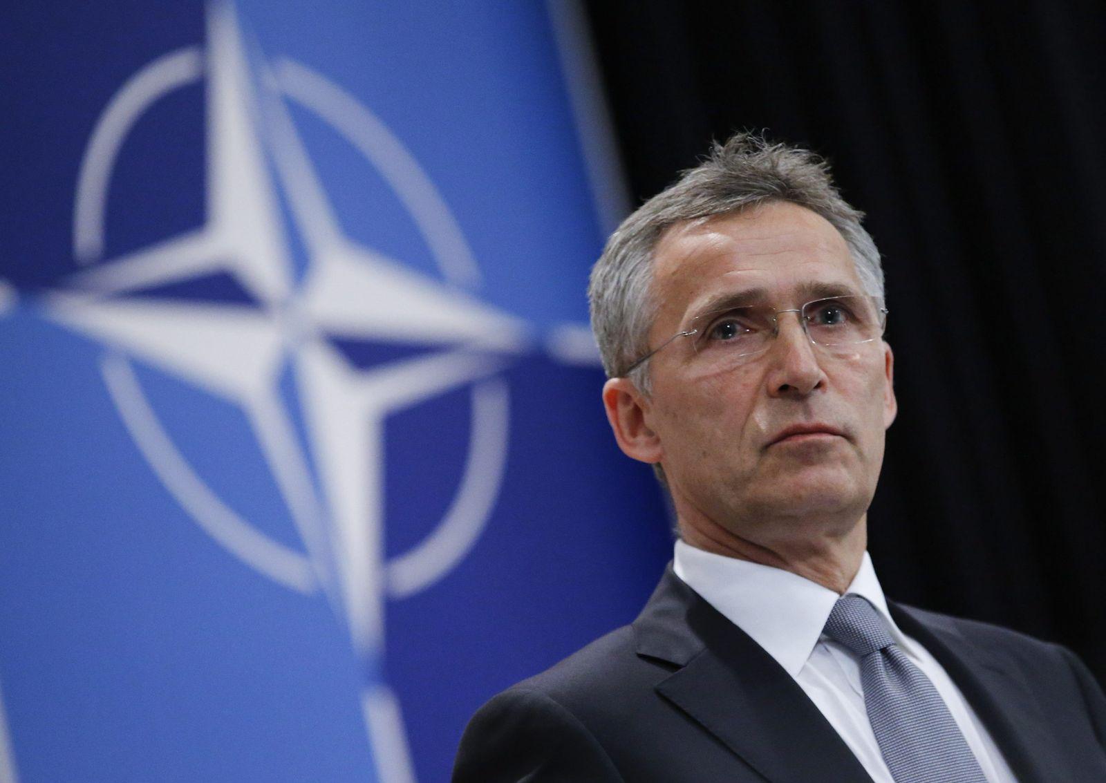 NATO Secretary General Jens Stoltenberg in Brussels