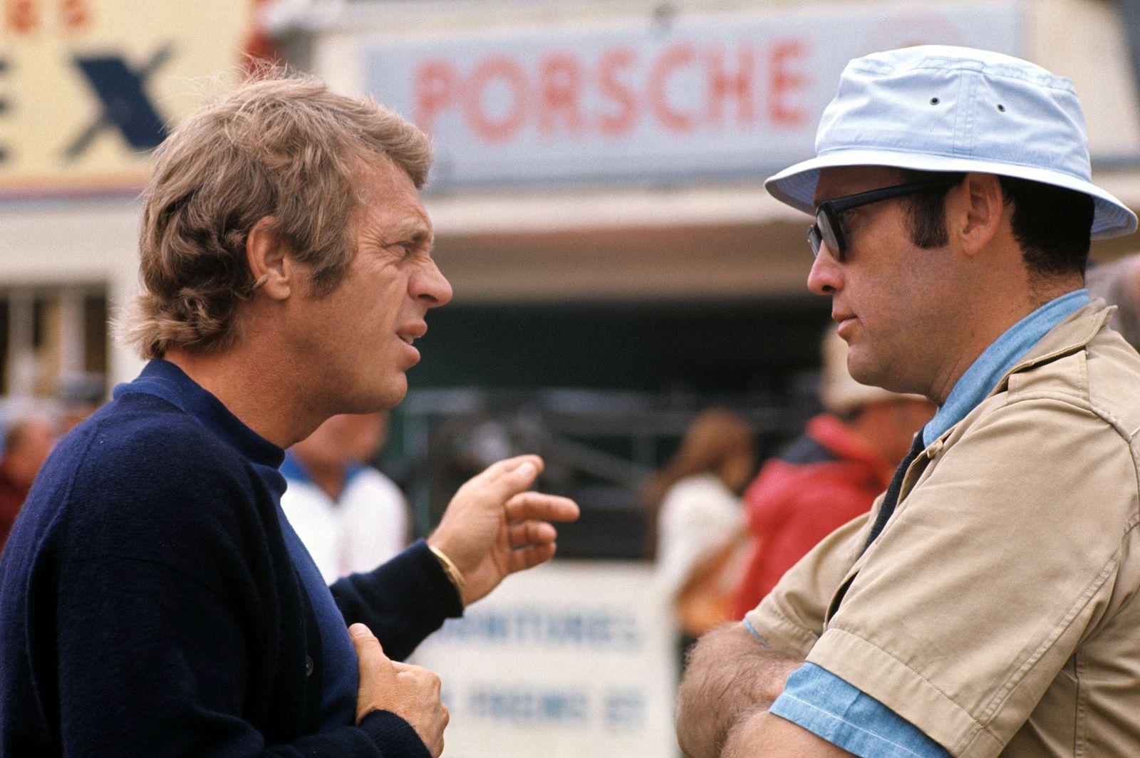 EINMALIGE VERWENDUNG SPERRFRIST 15.4.2016, 15Uhr / Le Mans / Steve McQueen / Siegfried Rauch