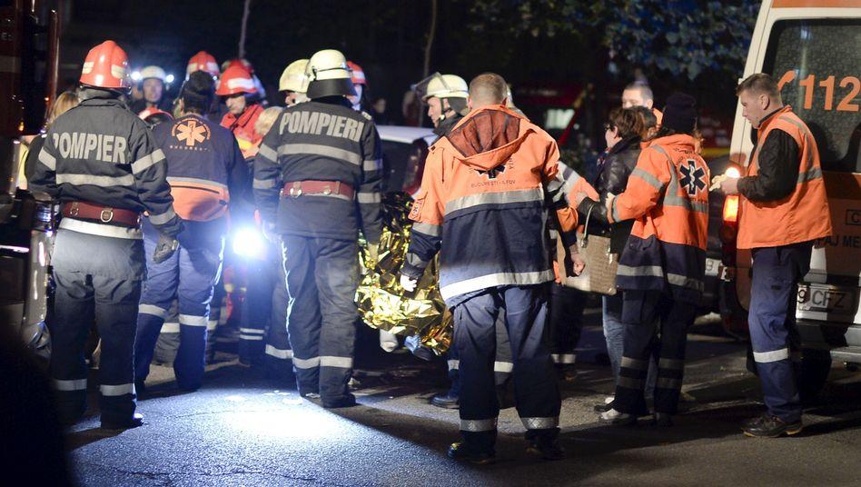 Rumänien: Verheerender Brand in Klub - viele Tote