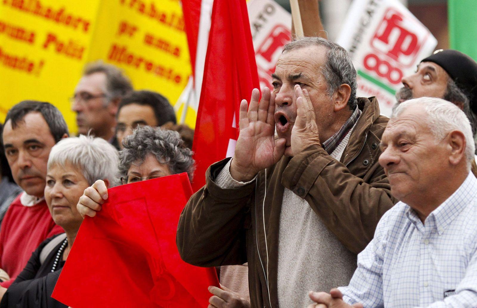 Protest Lissabon