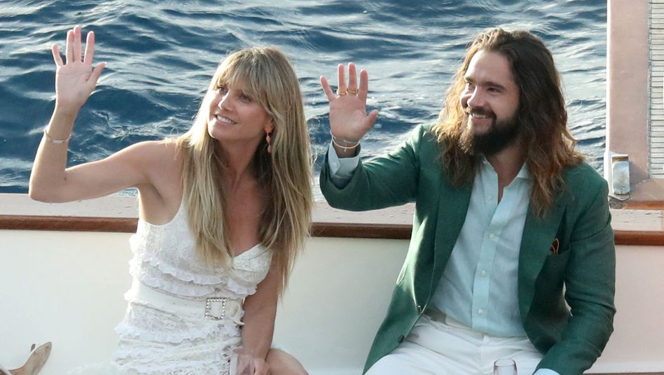 "Topmodel Heidi Klum und Musiker Tom Kaulitz: ""We did it!"""