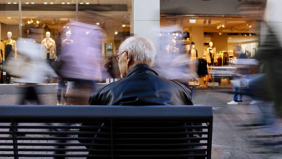 Rentner: Hoffentlich 35 Jahre eingezahlt