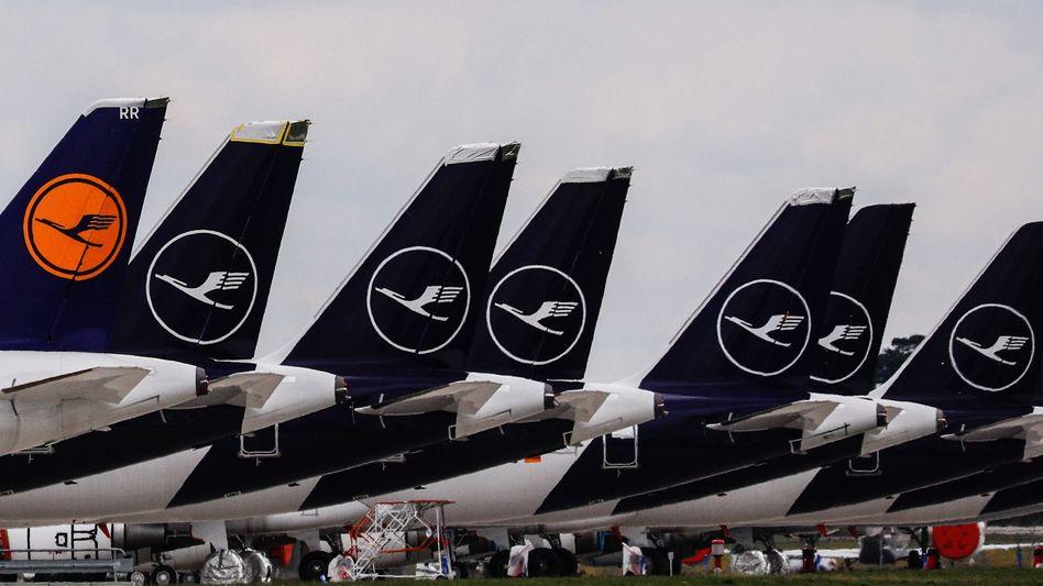Zwei für den Mittwochvormittag geplante Flüge von Frankfurt wurden zuvor storniert