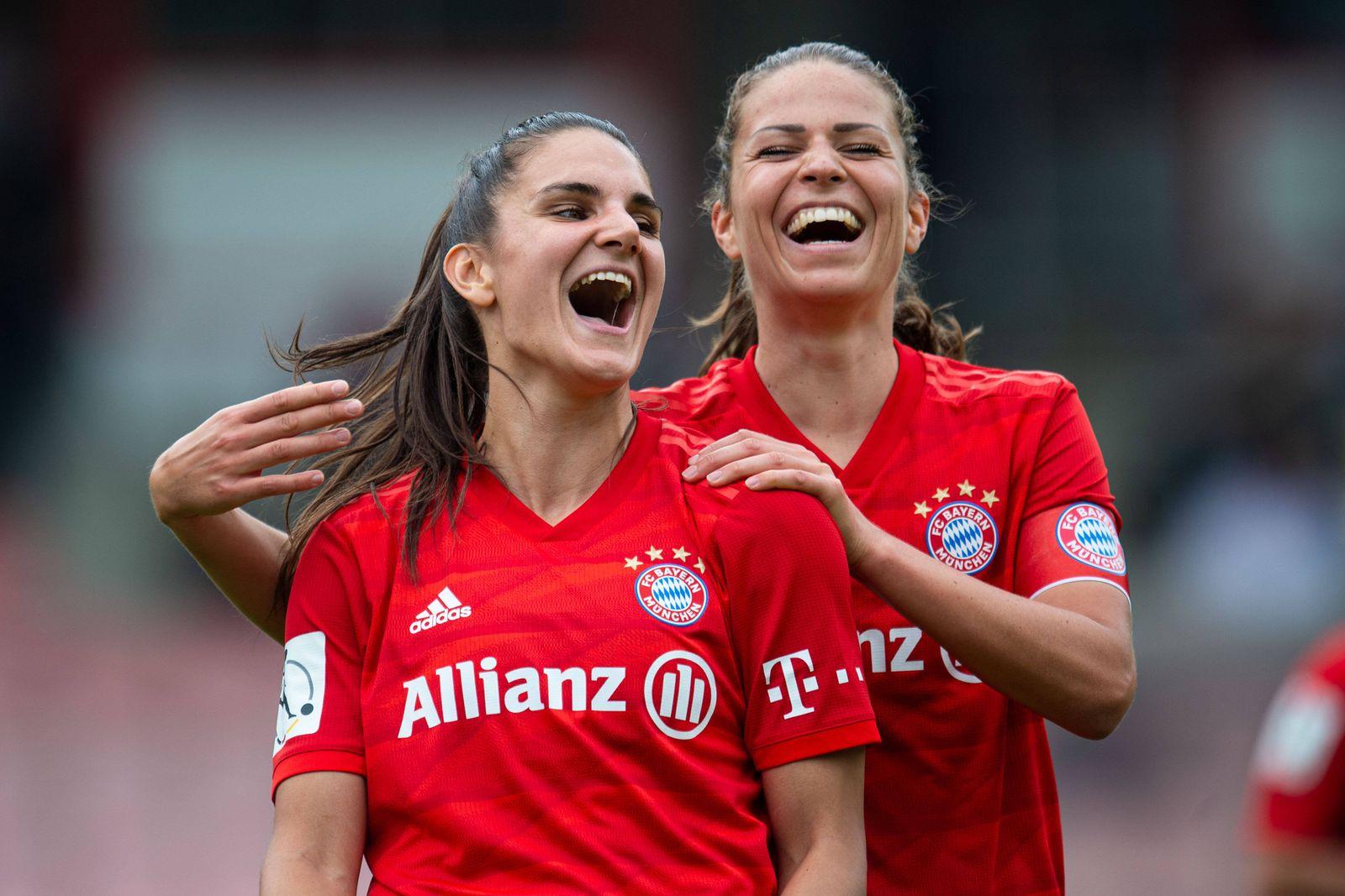 17.06.2020 - Fußball, Frauen Bundesliga, 2019/2020, 20. Spieltag, 1. FC Köln - FC Bayern München: (L-R) Jovana Damnjano