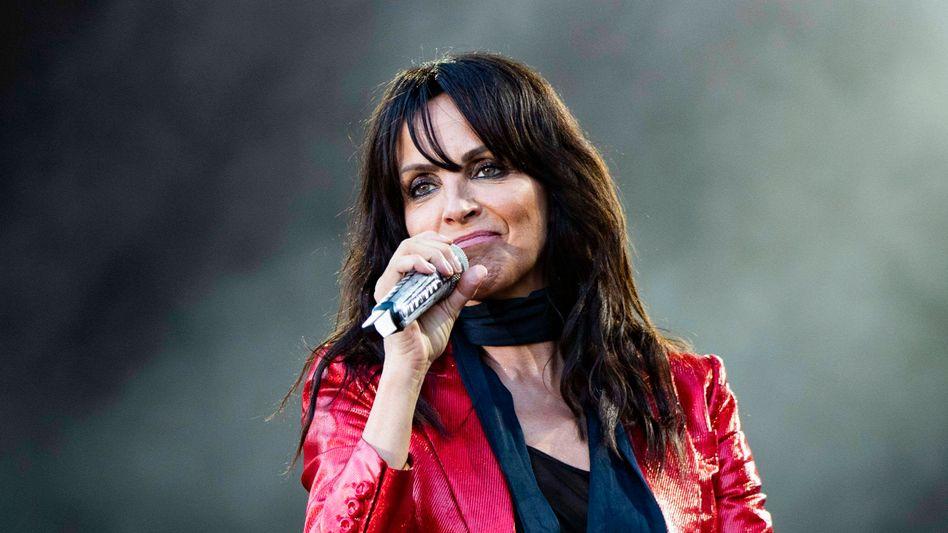 Musikerin Nena (bei einem Auftritt in Erfurt im August 2020): »Ich überlasse es eurer freien Entscheidung«