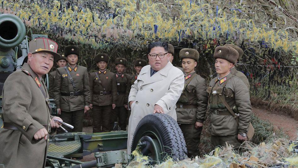 Nordkoreas Machthaber Kim Jong Un: Die Spannungen werden größer