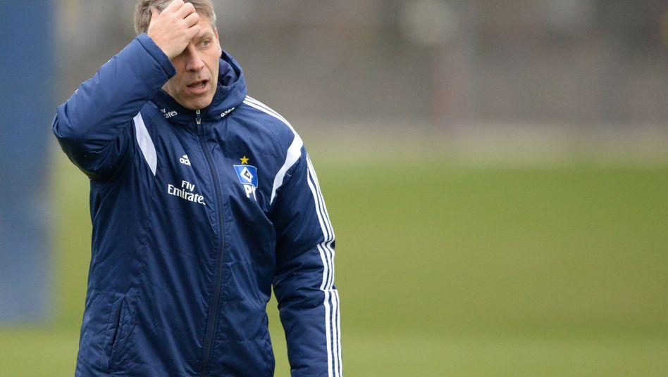 HSV-Sportchef Knäbel (Archiv): Image nicht noch weiter ramponieren