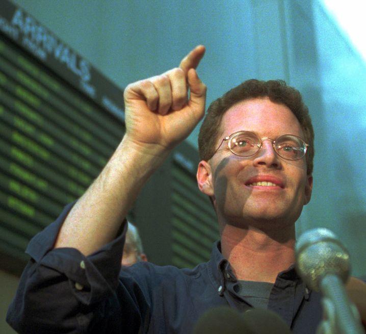 David Rohde zu Zeiten seines ersten Pulitzerpreises im Jahr 1995: Ein junger brillanter Krisenreporter