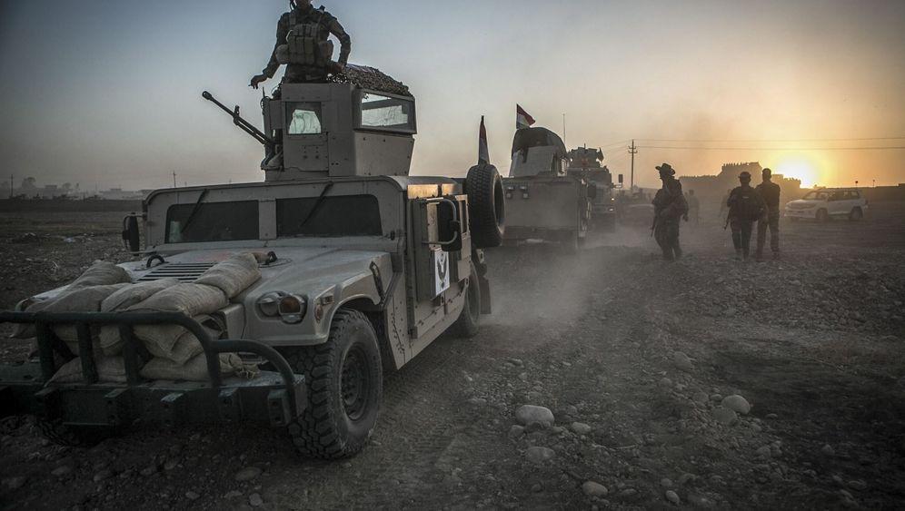 Marsch auf Mossul: Irak und Peschmerga beginnen Offensive