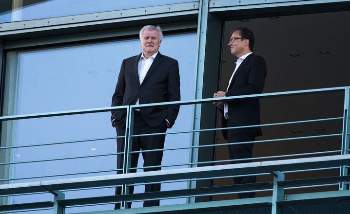 """CSU-Politiker Seehofer, Dobrindt: """"Ich wäre ja schon in Pension"""""""