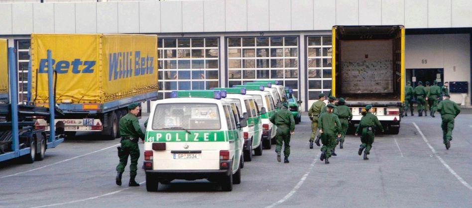 Razzia bei der Spedition Betz in Reutlingen 2003: Bakschisch für Regierungsbeamte in Georgien und Aserbaidschan