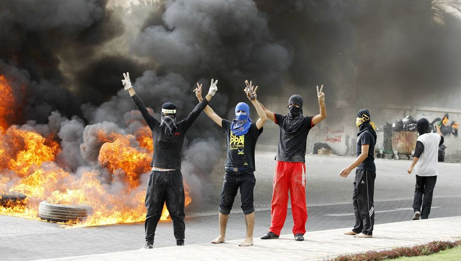 "Unrest in Bahrain: ""We are facing is exactly what the Americans are facing with terrorism."""