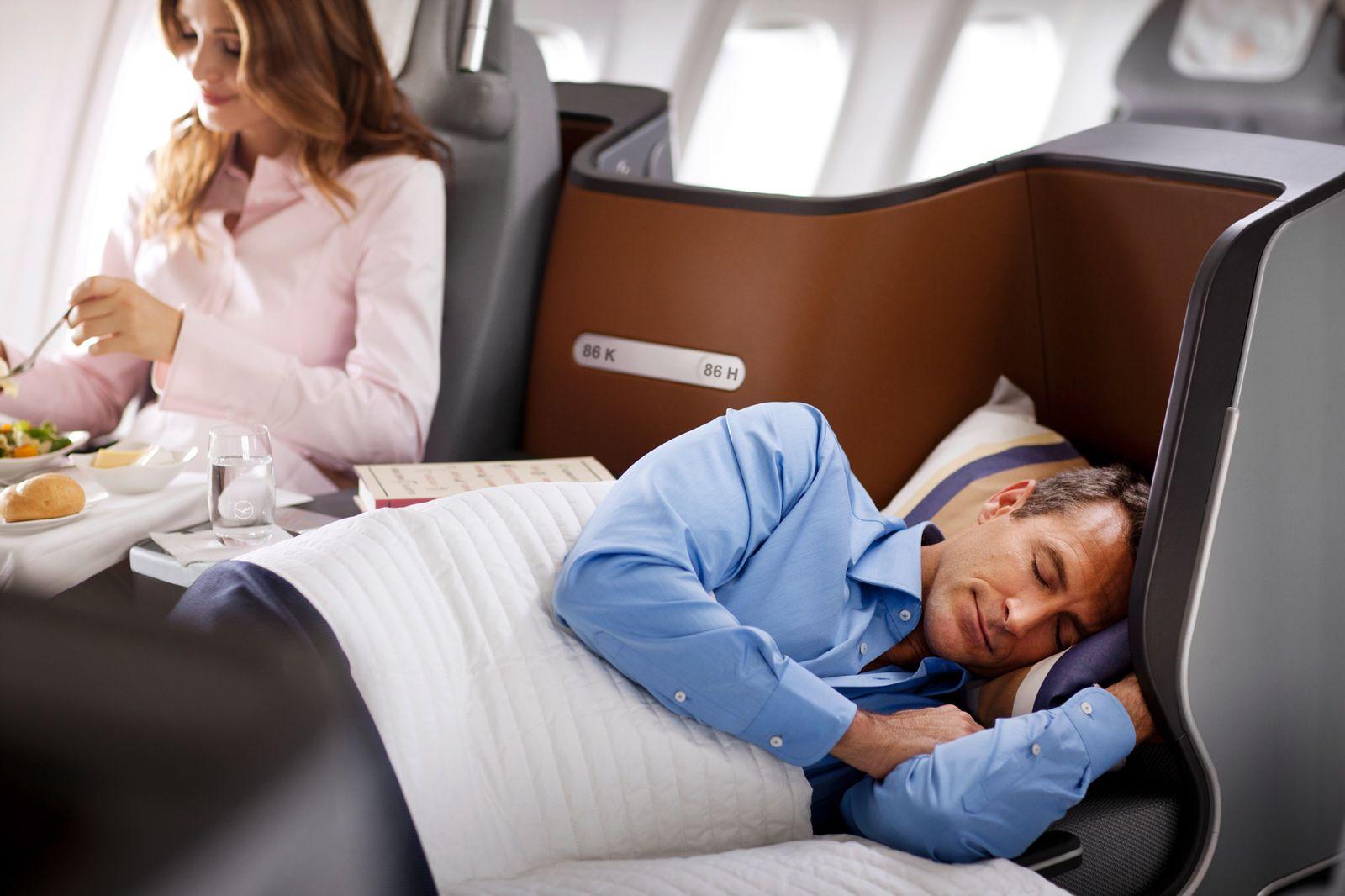 Neue Lufthansa Business-Class