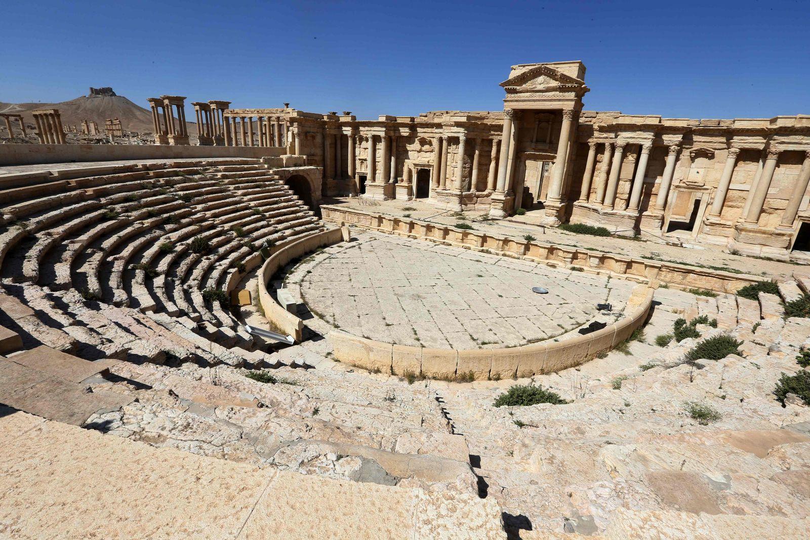 Syrien / Palmyra / Romanische Theater